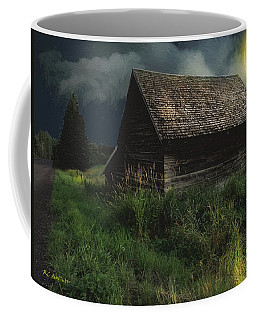 Yellow Moon On The Rise Coffee Mug