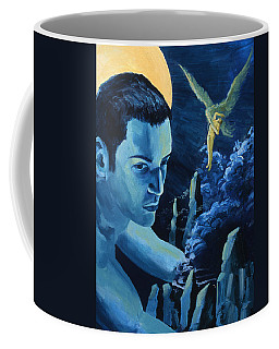 Yellow Moon Coffee Mug