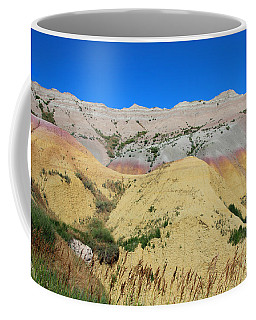 Coffee Mug featuring the photograph Yellow Mounds Badlands National Park by Jemmy Archer