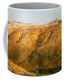 Yellow Mounds Overlook Badlands National Park Coffee Mug