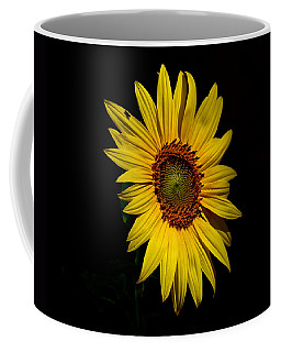 Yellow On Black Coffee Mug