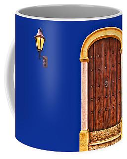 Door And Lamp Coffee Mug