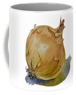 Yellow Onion Coffee Mug