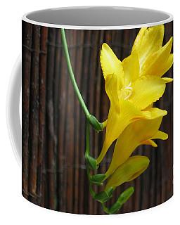 Yellow Petals Coffee Mug