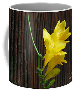 Yellow Petals Coffee Mug by HEVi FineArt