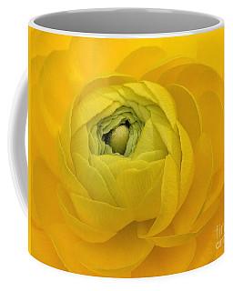 Yellow Ranunculus  Coffee Mug