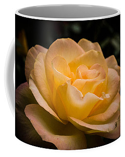 Coffee Mug featuring the photograph Yellow Ray Of Sunshine by Jeff Folger