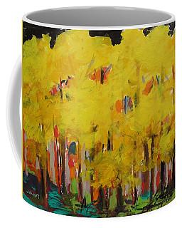 Yellow Refreshment Coffee Mug