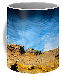 Yellow Rock Coffee Mug