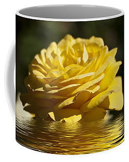 Yellow Rose Flood Coffee Mug