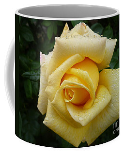 Yellow Rose Say Goodbye Coffee Mug