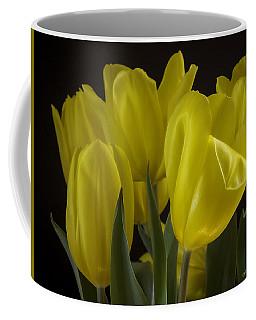 Yellow Silk Coffee Mug
