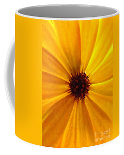 Yellow Splendour Coffee Mug by Clare Bevan
