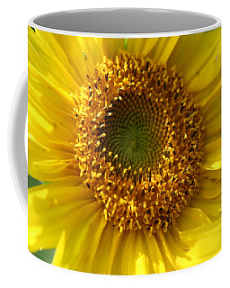 Yellow Sunshine Coffee Mug by Neal Eslinger