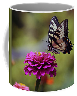 Yellow Tiger Swallowtail Butterfly Coffee Mug