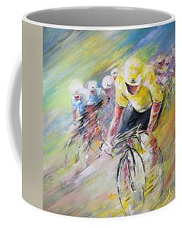 Yellow Triumph Coffee Mug