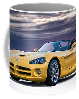 Yellow Viper Convertible Coffee Mug