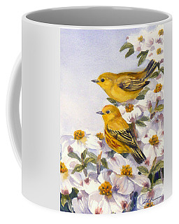 Yellow Warblers Coffee Mug