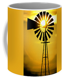 Yellow Wind Coffee Mug