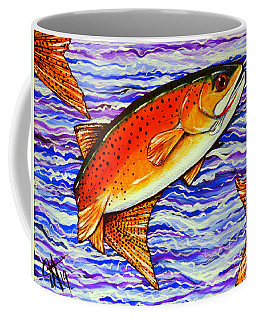Yellowstone Cutthroat Coffee Mug