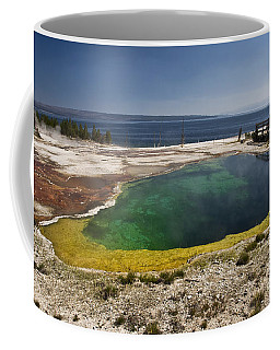 Yellowstone Lake Coffee Mug