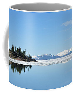 Yellowstone Lake In The Spring Coffee Mug