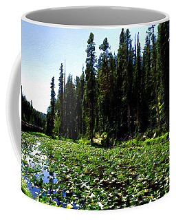 Yellowstone Lily Pads  Coffee Mug
