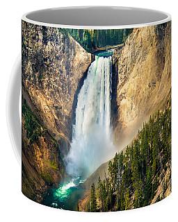 Yellowstone Lower Waterfalls Coffee Mug