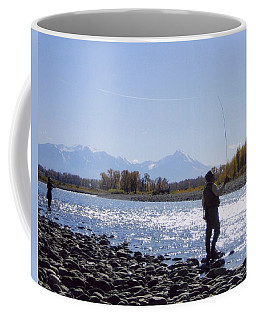 Yellowstone River Fly Fishing Coffee Mug