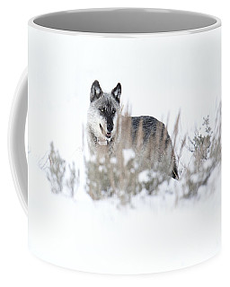 Yellowstone Wolf Coffee Mug