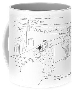 Yes Dear, I See Him. But I Can't ?nd Times Square Coffee Mug
