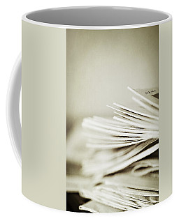 Coffee Mug featuring the photograph Yesterday's News by Trish Mistric