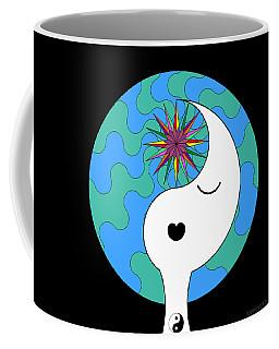 Yin Yang Crown 4 Coffee Mug