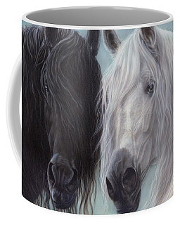 Yin-yang Horses  Coffee Mug