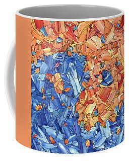 Coffee Mug featuring the painting Yin-yang by James W Johnson