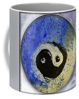 Yin Yang Painting Coffee Mug by Peter v Quenter
