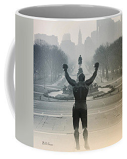 Yo Adrian Coffee Mug by Bill Cannon