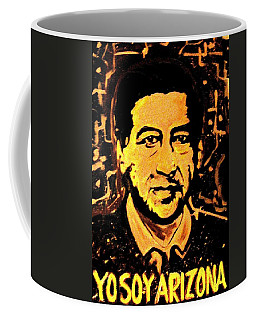 Coffee Mug featuring the painting Yo Soy Arizona by Michelle Dallocchio