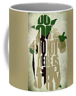 Yoda - Star Wars Coffee Mug by Ayse Deniz