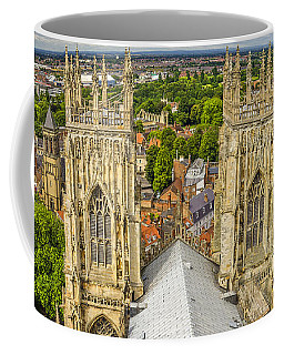 York From York Minster Tower Coffee Mug