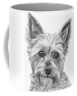 Yorkie Drawing Coffee Mug