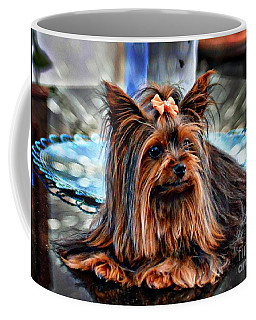 Yorkie Girl  Coffee Mug
