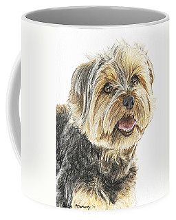 Yorkie In Color Coffee Mug