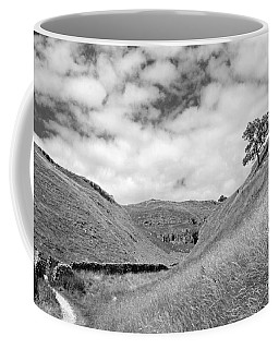Lone Tree In The Yorkshire Dales Coffee Mug