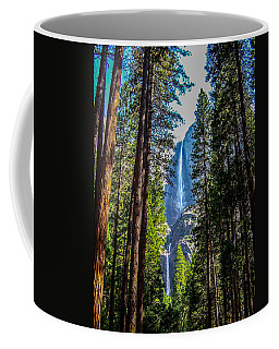 Coffee Mug featuring the photograph Yosemite Falls by Dany Lison