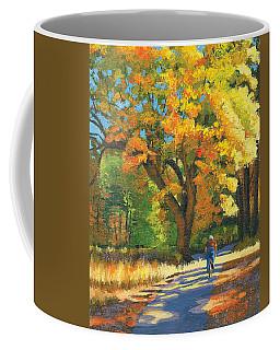 Yosemite In Autumn Coffee Mug