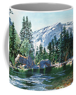 Yosemite Mirror Lake Coffee Mug