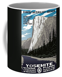Yosemite National Park Vintage Poster 2 Coffee Mug