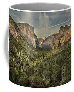 Yosemite Valley As Seen From Tunnel View Coffee Mug