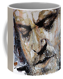 Coffee Mug featuring the painting You Are So Beautiful by Laur Iduc